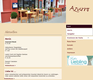 Azurro Restaurant & Weinbistro