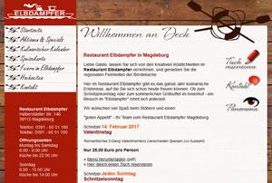 Elbdampfer Restaurant