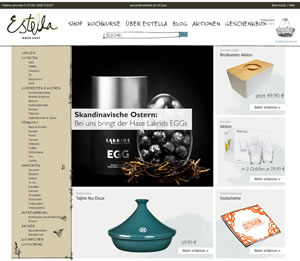 Estella KochLust Webseite